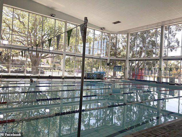 Shocked gym users called police to the Fitness First at Sylvania in southern Sydney about 5pm on Tuesday after discovering the unconscious swimmer