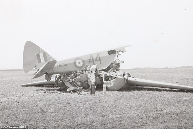 While some images cast a light on the how crew members relaxed in their spare time, others reveal the aircraft wreckage and the perils of the war