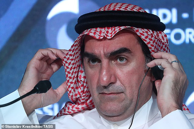 The Saudi Public Investment Fund, led by Yasir Othman Al-Rumayyan (pictured), is fronting up 80 per cent of the money for the takeover