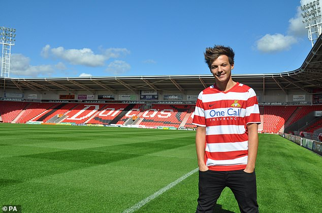 Ex-One Direction singer Louis Tomlinson was blocked from buying Doncaster Rovers in 2014