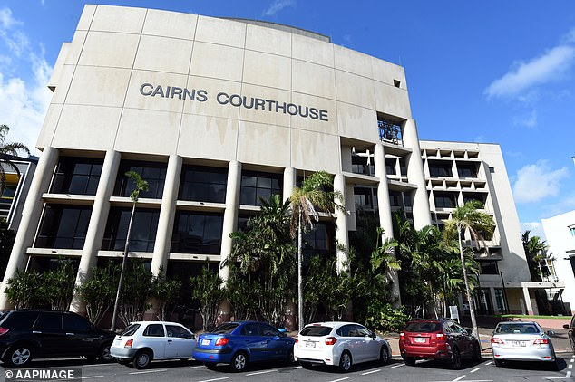 The Cairns Magistrates Court (pictured) heard the mother allegedly heavily intoxicated at the time of the incident and witnesses claim they heard her say she was going to throw her son