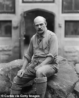 Borglum was a member of the Ku Klux Klan, according to Mount Rushmore historian and writer Tom Griffith
