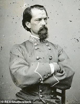 John Brown Gordon (pictured) was a suspected KKK leader