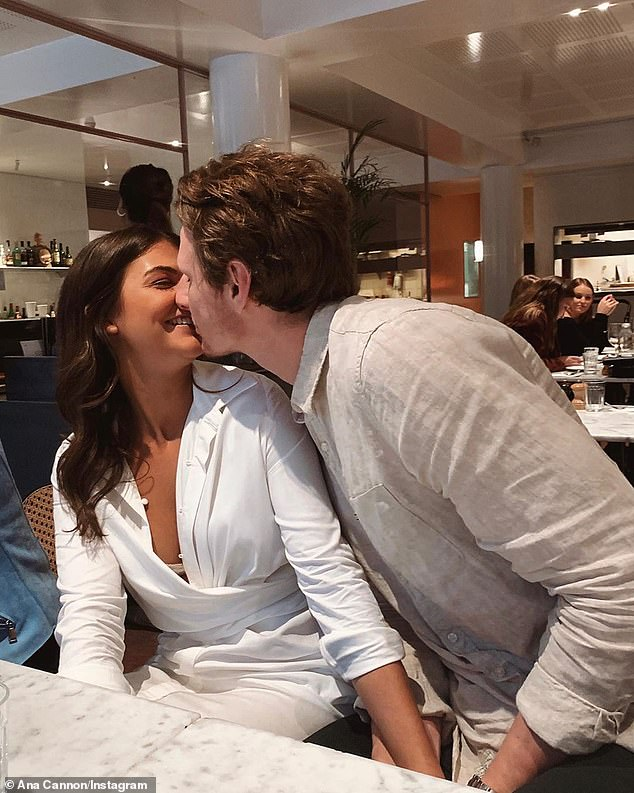 Romantic: 'Once we get through this she is someone I want to be with forever. I'm an emotional kind of guy and a big softie,' Daniel said