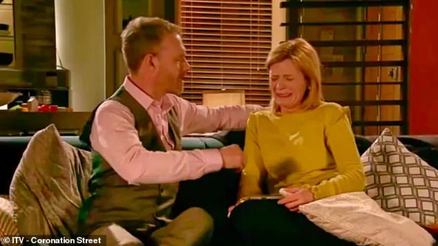 Plot: Leanne is involved in a harrowing storyline on Coronation Street that has seen her character Leanne Battersby's son Oliver battle mitochondrial disease