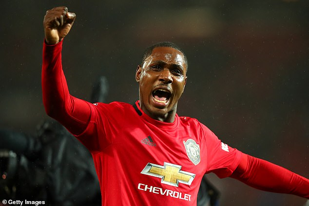Odion Ighalo, a January arrival on loan, has scored in every United game he has started