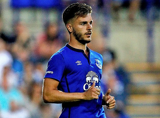 Luke Garbutt was released by Everton on Tuesday having not played for the club since 2015