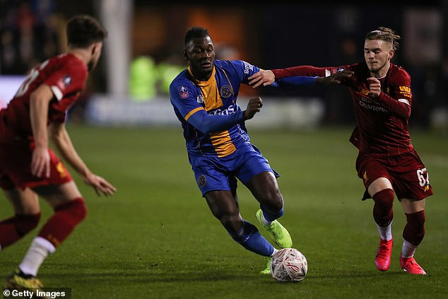 Blackburn and Birmingham are weighing up a move for Shrewsbury defender Aaron Pierre