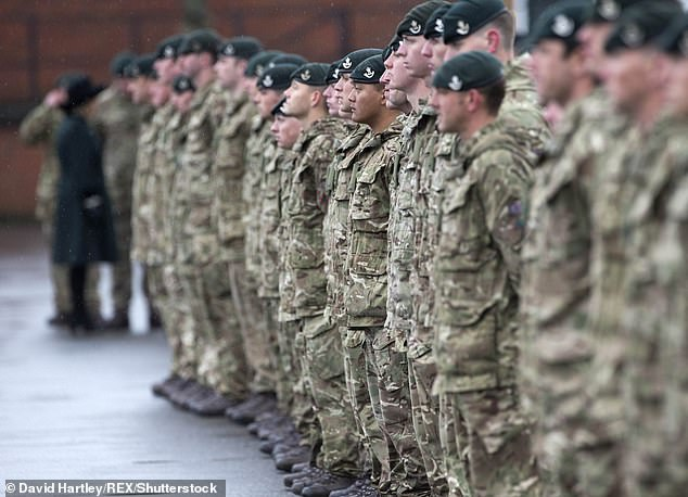The Ministry of Defence have told uniformed forces personnel that they should not perform the symbolic gesture which is used to show solidarity with the Black Lives Matter movement