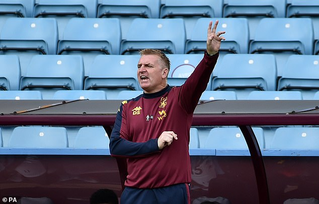 Manager Dean Smith's future is also in doubt and will be decided at the end of the season