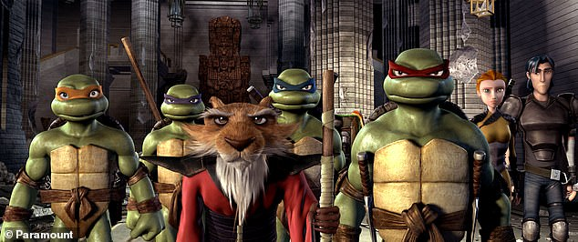 Turtle power: Teenage Mutant Ninja Turtles got their first animated series in 1987 and a version of the cartoon has seen several iterations from then on