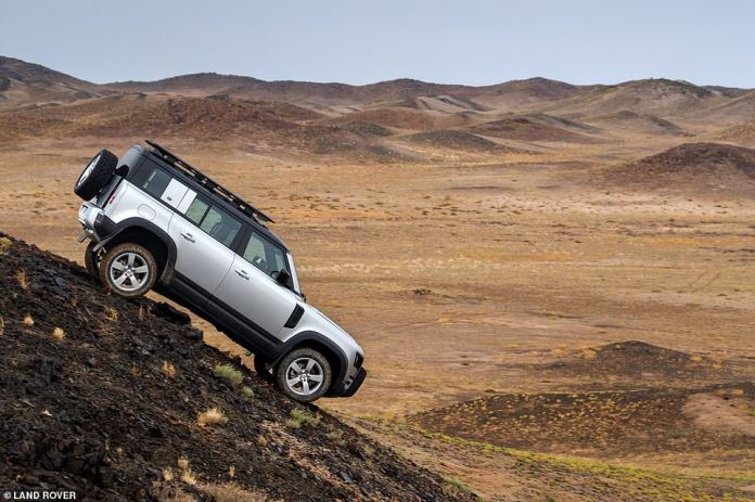 Market gap: Although Land Rover has attempted to market its new Defender as an all-terrain all-terrain vehicle, many - including Sir Jim Ratcliffe - believe it does not meet the needs of customers who bought the vehicle. previous generation