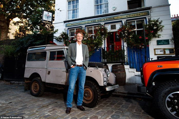 Sir Jim Ratcliffe announced plans to create a spiritual successor to the Land Rover Defender soon after production of the previous generation model ended in early 2016