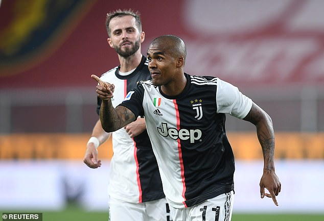 Douglas Costa had rounded off a good showing from Juventus after coming off the bench