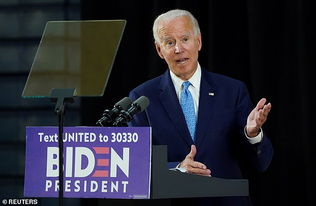 Joe Biden said Tuesday that his running mate shortlist included a racially diverse group of women. He also said he planned to release a list of potential Supreme Court picks who are black women