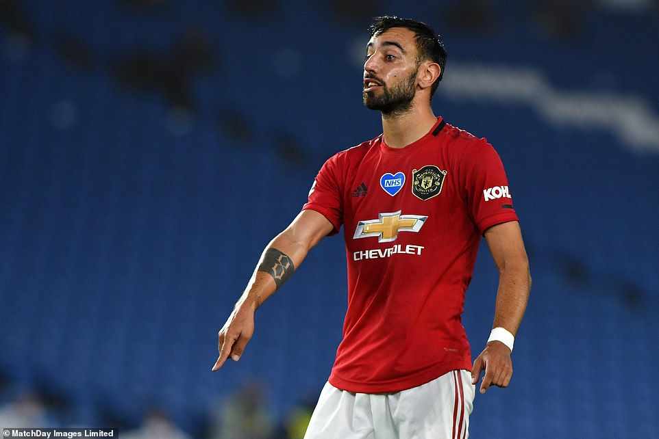 The Portuguese oozed class and vision as he struck his sixth United goal since joining the club in January