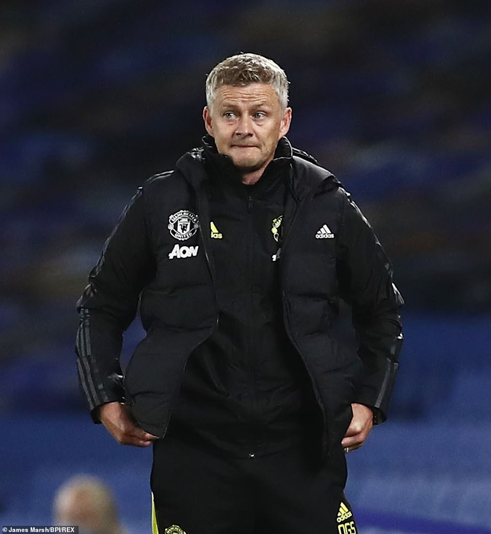 Ole Gunnar Solskjaer's team are two points from fourth-placed Chelsea having played a game more