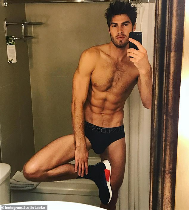 REVEALED: The angered star was Justin Lacko (pictured) from Australia's debut season of Love Island - which aired in 2018, but is now airing for the first time in the UK in 2020