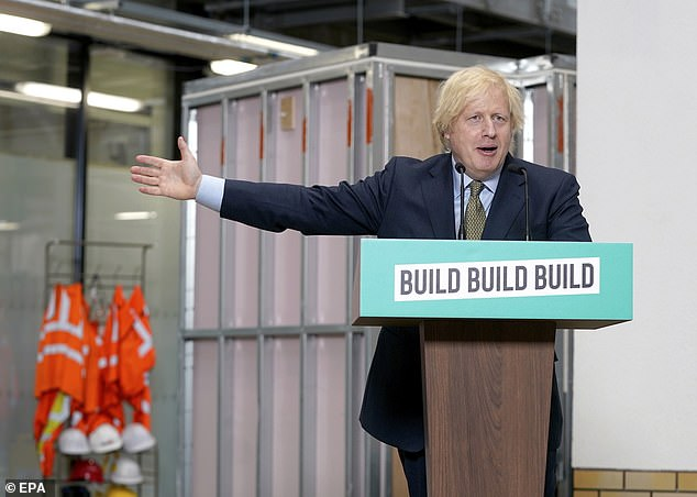 Yet Boris Johnson, in perhaps his most significant speech so far on the future direction of this country, felt obliged to do so yesterday