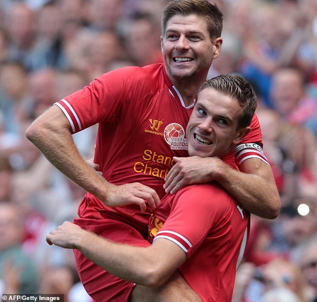 Jordan Henderson hails Steven Gerrard after Liverpool's title win