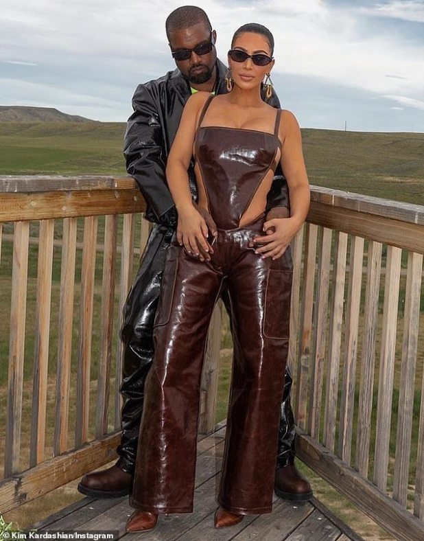 Family getaway: She recently enjoyed some quality family time after getting away to their ranch in Wyoming
