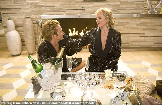 Love and lust: Jason's character had a wild on-and-off romance with Samantha Jones, played by Kim Cattrall