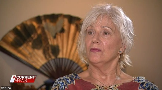 Marjan previously told Channel Nine's A Current Affair how Kyle had 'projected' a profile of a 'lonely person' whose wife died five years ago
