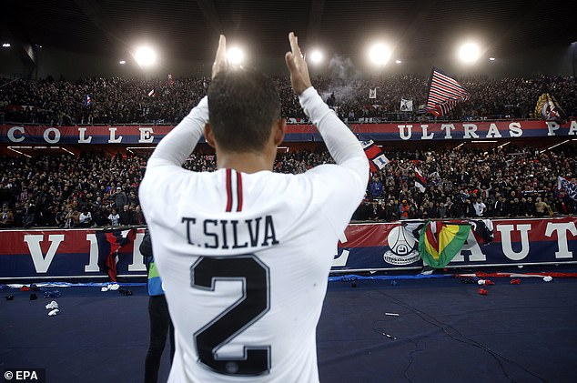 Silva will play for PSG in the Champions League in August before leaving for pastures new