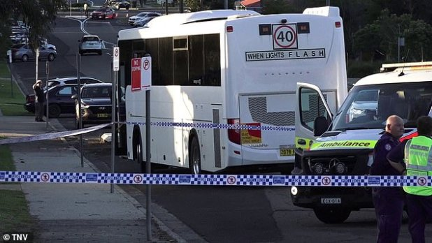 The bus driver gave a negative breath test at the scene, and was taken to hospital for further mandatory testing