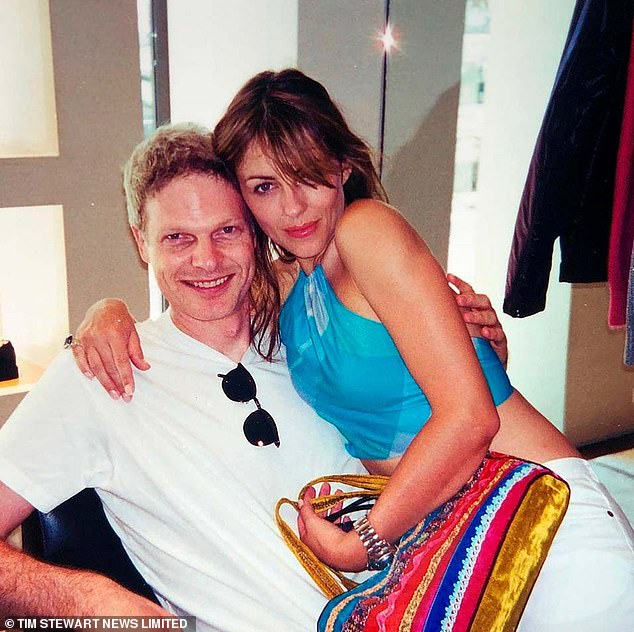Way back when:Damian was born after an 18-month relationship between Steve and Elizabeth Hurley, 55, in the early 2000s, before the pair split amid a bitter paternity row