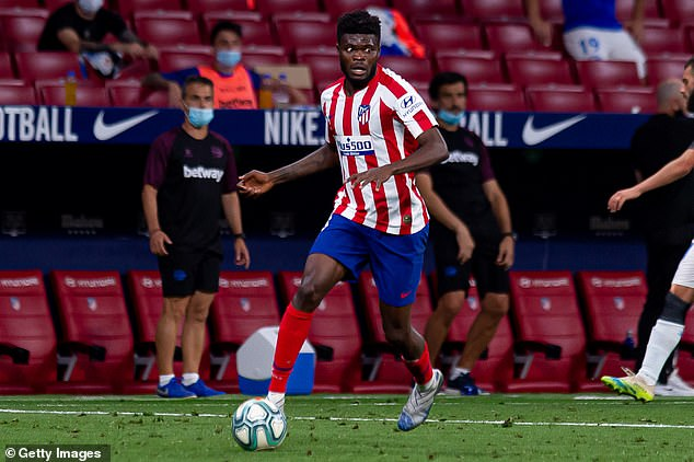 The Athletic have also claimed that Arsenal are plotting a move Atletico star Thomas Partey