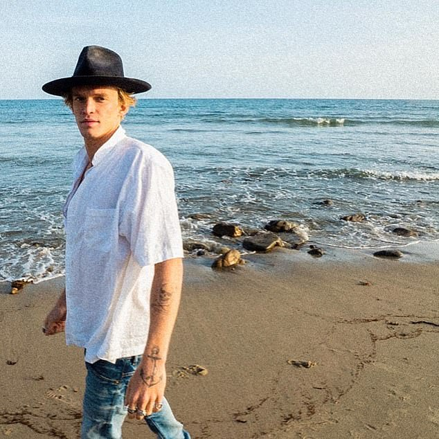 Change: The California based singer's first project with the organisation is Don't Let Nature Go To Waste, in an attempt to promote sustainable alternatives to single-use plastics