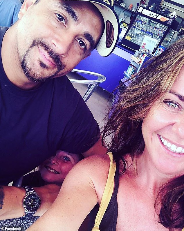 Sarah Sleeman (pictured right) has been separated from her new fiancéEric Zuniga (pictured left) for four months due to the coronavirus pandemic and Victoria's COVID-19 spike