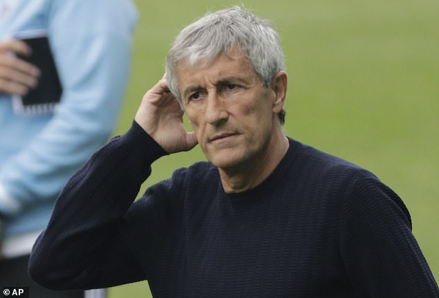He has fallen out of favour with Quique Setien, who has started him once in the last four games