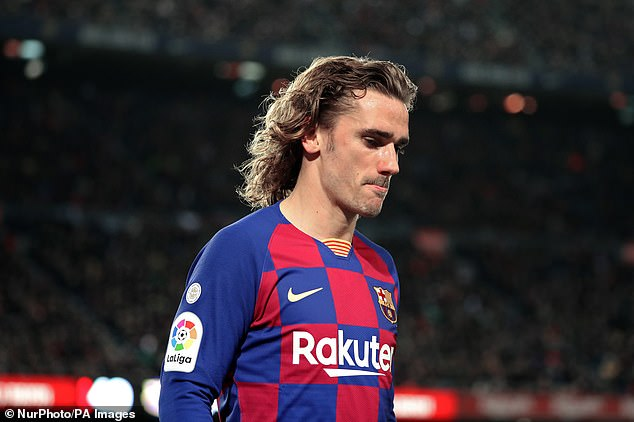 There were big expectations for Griezmann after signing for Barca but it hasn't gone to plan