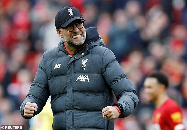 Klopp has been driven to improve Liverpoool by Guardiola's excellence