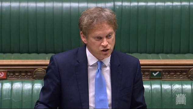 Transport Secretary Grant Shapps said the enforcement of face coverings on trains, Tubes and buses will be ramped up
