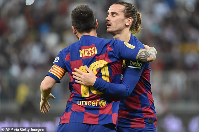 Messi and Griezmann have failed to link-up effectively recently, with Barca dropping points