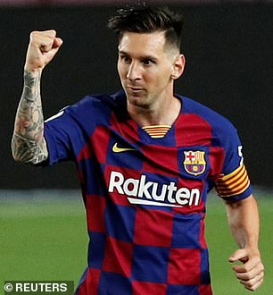 Barcelona captain Lionel Messi was labelled 'a kid who's 1.50 metres and half-autistic'
