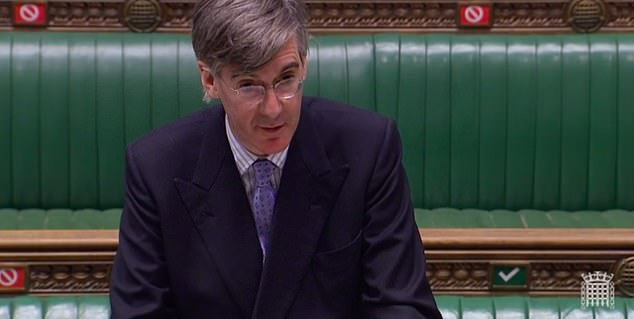 Commons Leader Jacob Rees-Mogg said he had bought a yard of ale glass ahead of a trip to a local pub at the weekend