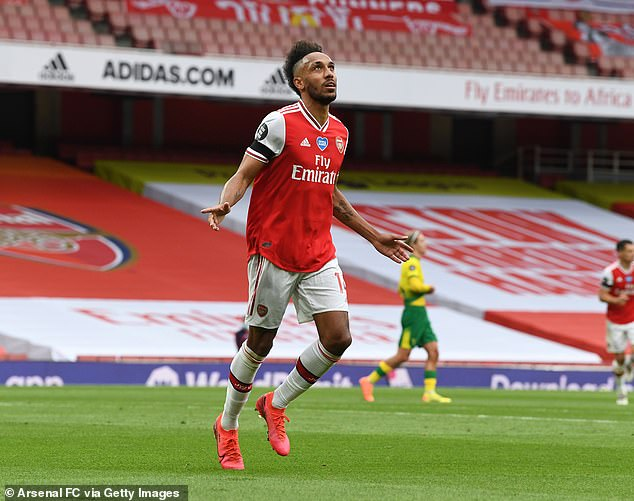 Arteta also issued a warning to the board of directors regarding the future of Aubameyang