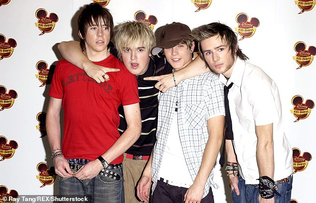 Tough: In July, musicians admitted they were 'broken' during their time apart from each other (pictured in 2004)