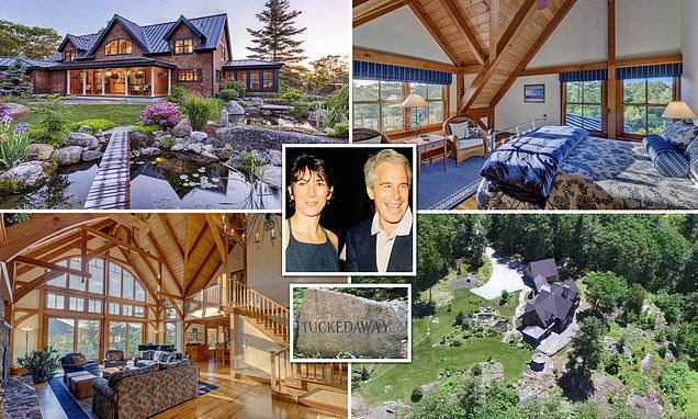 Ghislaine Maxwell was arrested at $1million New Hampshire estate