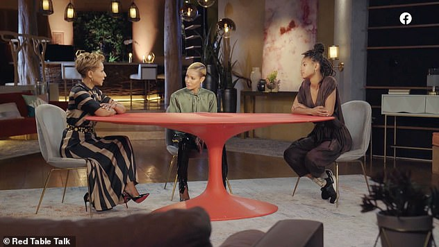 Coming soon: Jada, who hosts the show with her mom and daughter, didn't give a date for the upcoming episode