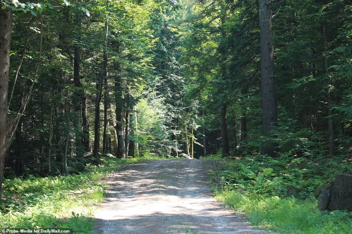 La propriété de près de 150 acres de terre est à 338-Orient de Washington Route