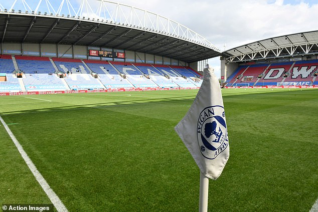 The championship club announced on Wednesday that it had been placed in administration
