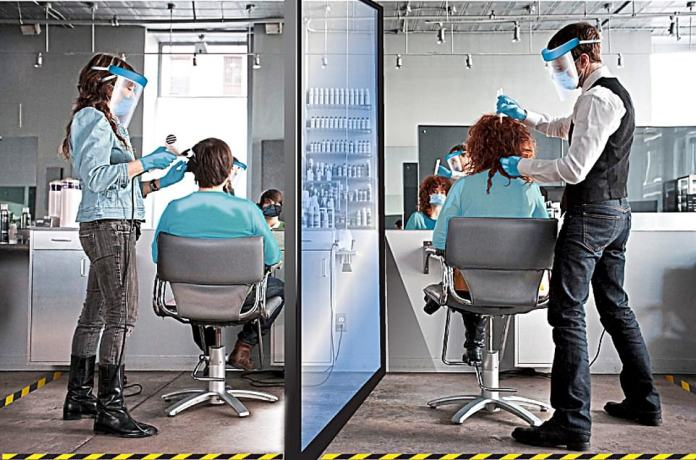 Hairdressers and barbers can reopen tomorrow, including freelance stylists who come to you