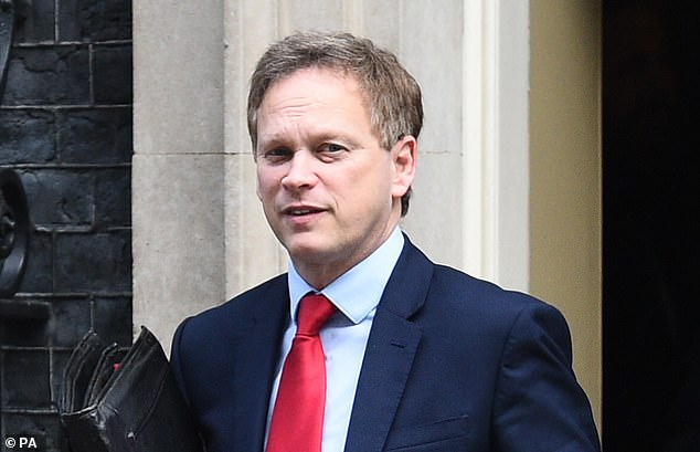 Grant Shapps said he is speaking to airport handling firm Swissport, who are preparing a trial of a scheme which will involve travellers receiving a swab test after passing through immigration and customs