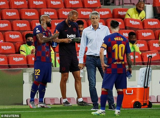 Des rapports espagnols suggèrent que le capitaine du Barça ne voit pas d'égal à égal avec Quique Setien