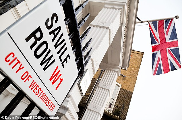 The ongoing pandemic has struck at a time when Savile Row would be bustling with shoppers preparing for wedding season or for events such as the Royal Ascot